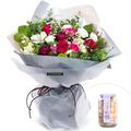 러빙유꽃다발+사탕