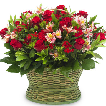 꽃바구니(꽃행복160호) 45000원