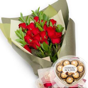 꽃다발01+ 페레로로쉐 [Valentine Day]