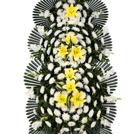 장례식장화환 3단 최고급형