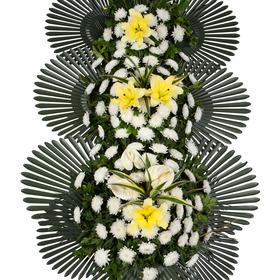 장례식장화환 3단 기본형